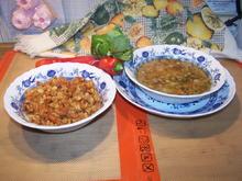 Kartoffelsuppe mit Gemüse , als Beilage Sterz - Rezept - Bild Nr. 11677