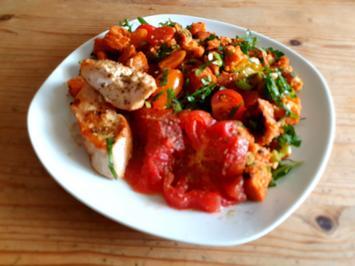 Tomaten-Brot-Salat - Rezept - Bild Nr. 2