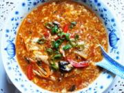 Süß-sauer-scharf-Suppe ala Szechuan - Rezept - Bild Nr. 2