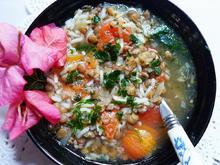 Reissuppe mit Linsen - Minestra di riso - Rezept - Bild Nr. 2
