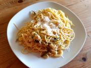 Pasta mit zitroniger Lauch-Sahne-Sauce - Rezept - Bild Nr. 2