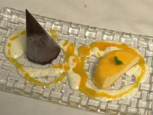 Mango-Joghurt-Mousse mit Schokokegel - Rezept - Bild Nr. 2