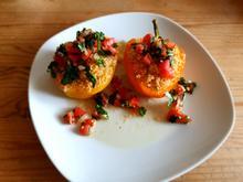 Paprika mit Couscous-Füllung - Rezept - Bild Nr. 2