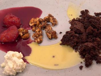 Marzipancreme mit eingekochten Pflaumen - Rezept - Bild Nr. 2