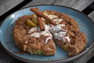 High-Protein Frühstückskuchen - Rezept - Bild Nr. 2