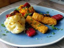 Fischstäbchen mit Herbstgemüse - Rezept - Bild Nr. 2