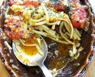 Linguineauflauf mit Zucchini und Portobella-Pilzen - Rezept - Bild Nr. 2