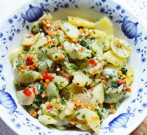 """Bunter, gemischter Kartoffelsalat """"Meersburg"""" - Rezept - Bild Nr. 2"""