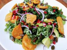 Salat vom Grünkohl - kochbar Challenge 11.0 (November 2020) - Rezept - Bild Nr. 2
