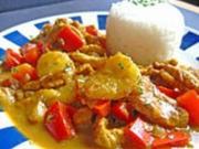 Bananen - Hühner - Curry - Rezept