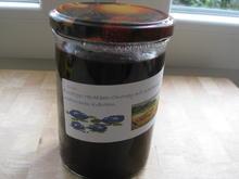 Heidelbeer-Chutney mit Waldhonig und mediterranen Kräutern - Rezept - Bild Nr. 2