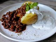 Baked Potato mit Hackfleischsauce - Rezept - Bild Nr. 2