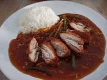 Knuspriges Huhn mit Knoblauchsauce - Rezept - Bild Nr. 2