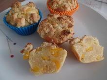 Pfirsich-Muffins mit Streusel - Rezept - Bild Nr. 11893
