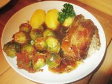 Schweinenacken geschmort im Ofen - Rezept - Bild Nr. 2