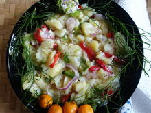 Knackig-bunter, herzhafter Kartoffelsalat Sanur Beach - Rezept - Bild Nr. 2