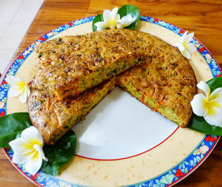 Würziger Brokkoli-Tart nach Pandang Art - Rezept - Bild Nr. 2