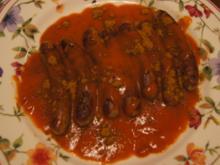 Blitz-Currywurst mit Nürnberger Rostbratwürsten - Rezept - Bild Nr. 3
