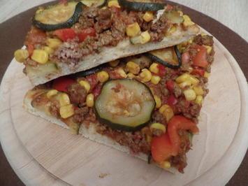 Pizza Mexico - Rezept - Bild Nr. 11945