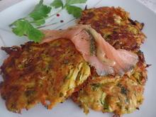 Gemüserösti mit Räucherlachs - Rezept - Bild Nr. 11981