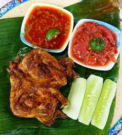 Frittiertes Hühnchen auf Kalasan Art – Ayam Kampung Kalasan - Rezept - Bild Nr. 2