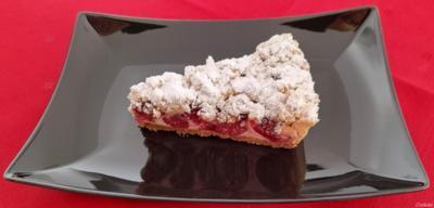 Kirsch - Käse - Tarte ... Cherry - Cheesecake ... - Rezept - Bild Nr. 2