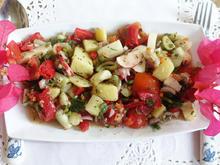 Türkischer, bunter Kartoffelsalat à la Bodrum - Rezept - Bild Nr. 2