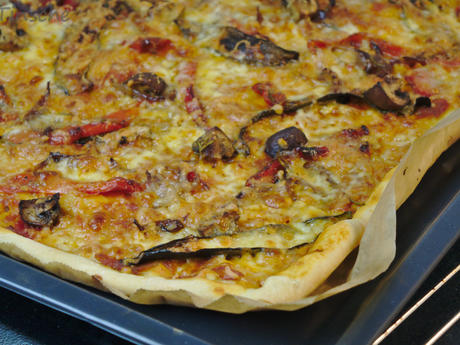 Antipasti Pizza - Rezept - Bild Nr. 16
