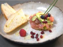 Thunfisch Tatar mit Avocado und Focaccia - Rezept - Bild Nr. 2