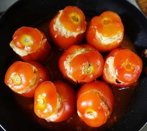 Gefüllte Tomaten auf italienische Art - Pomodori ripieni - Rezept - Bild Nr. 2