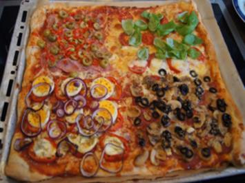 Pizza Quattro Stagioni à la Ivanka - Rezept - Bild Nr. 2