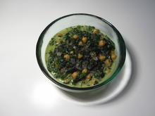 Kichererbsen-Spinat mit Kokosmilch - Rezept - Bild Nr. 2