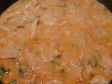 Hühner-Curry-Geschnetzeltes mit Curryreis - Rezept - Bild Nr. 2