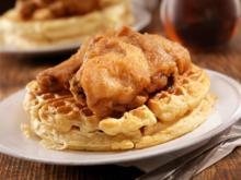 Chicken and Waffles – amerikanische Waffeln mit Hühnerfleisch - Rezept - Bild Nr. 2