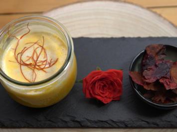Folsches Seidla mit gsunda Chips – Karottensuppe mit rote Bete Chips - Rezept - Bild Nr. 2