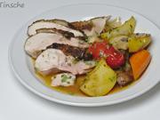 Grillhähnchen auf mediterranem Gemüse - Rezept - Bild Nr. 9