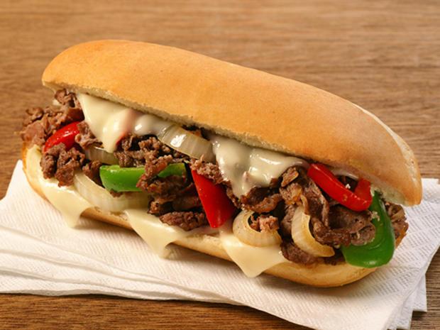 Philly Cheese Steak Sandwich - Amerikanische Rezepte - Bild Nr. 16