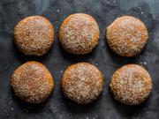 Vollkorn Burgerbrötchen – amerikanische Buns - Rezept - Bild Nr. 2