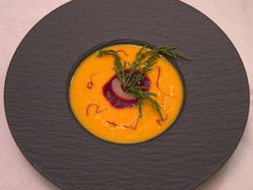 Kürbissuppe mit Brot - Rezept - Bild Nr. 2