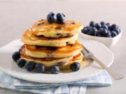 Blaubeer Pancakes – amerikanisch - Rezept - Bild Nr. 2