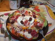 Salat Teller für Zwei - Rezept - Bild Nr. 2