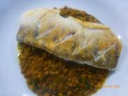Zanderfilet mit Linsen-Ingwer-Curry - Rezept - Bild Nr. 2