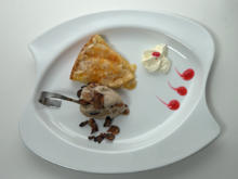 Apfel-Tarte mit Lebkucheneis - Rezept - Bild Nr. 2