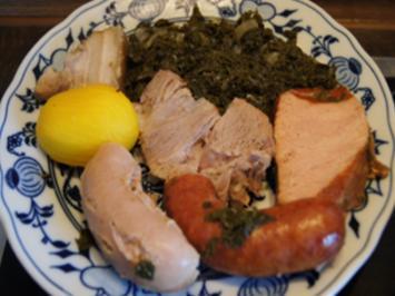 Grünkohl mit Fleisch-Wurst-Mix und Kartoffeln - Rezept - Bild Nr. 2