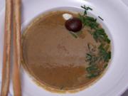 Cremige Maronensuppe mit einem Schuss Weißwein - Rezept - Bild Nr. 3