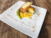Eierlikörkuchen mit Pistaziencreme und marinierten Orangen (Sonja Zietlow) - Rezept - Bild Nr. 2