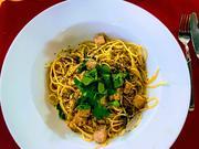 Spaghetti mit Thunfisch und Zitrone - Spaghetti tonno fresco e limone - Rezept - Bild Nr. 3