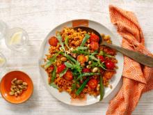 Mediterraner Reis mit Rucola und Tomaten - Rezept - Bild Nr. 3