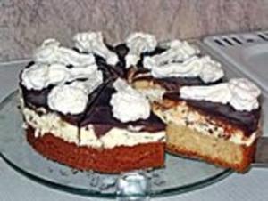 Banana Split Torte - Rezept