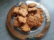 Haferflocken Kekse mit Nüssen und Kokosblütenzucker (eiweisshaltig) - Rezept - Bild Nr. 2